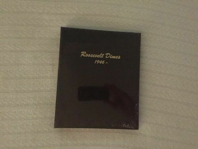 No Proofs Dansco Coin Album # 7125 For Roosevelt Dimes From 1946-2026p NEW!!!