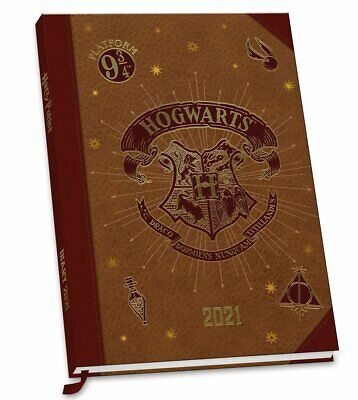 2021 Harry Potter Diary/Planner Calendar Week to View ...