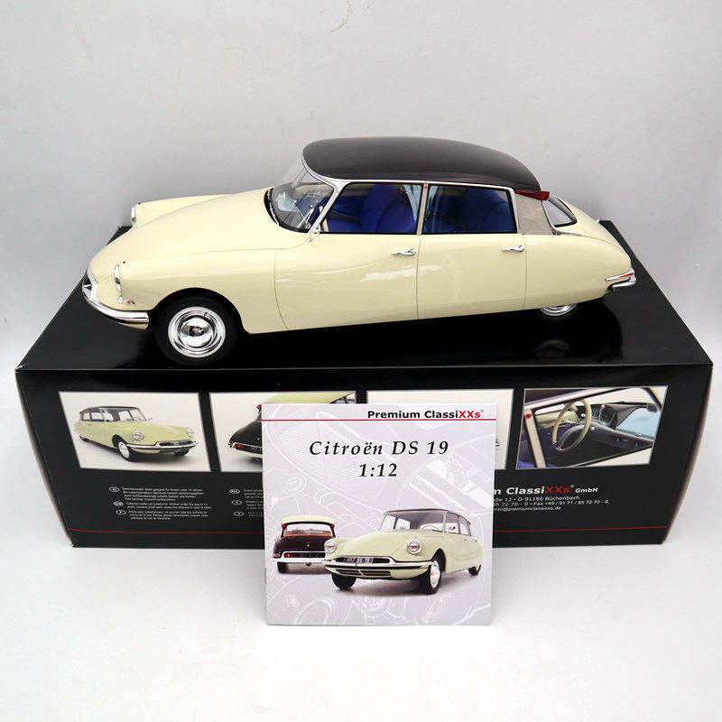 1 12 Premium ClassiXXs 40045 Citroën DS 19 Type I 1955 Light Beige  Dark Plum