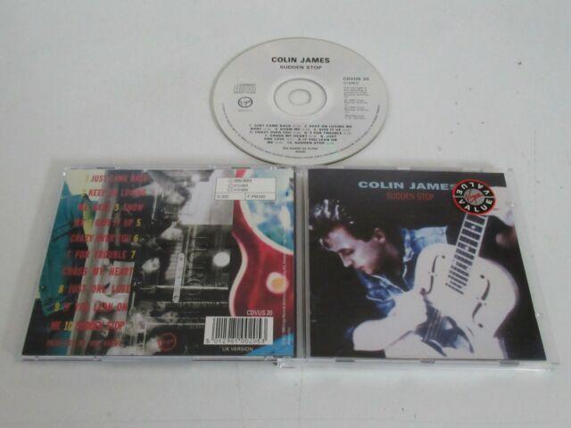 Colin James – Sudden Stop / Virgin Records America – Cdvus 20 CD Album