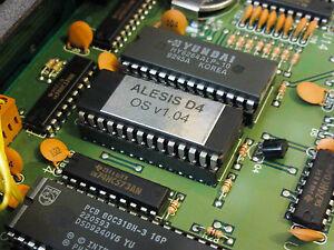 Alesis D4 Drum OS v1.04 Firmware Update Chip