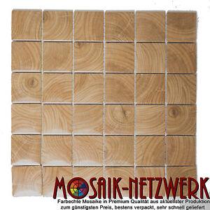 Details Zu Mosaik Clico Holz Braun Fliesenspiegel Küche Verblender Art16 1304 10 Matten