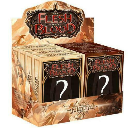 Monarch Blitz Deck Set of 8 Sealed Flesh and Blood FAB - Presale -Wave 1 May 7