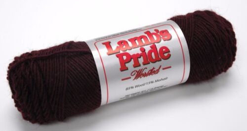 NEW! MADE IN USA Brown Sheep Lamb/'s Pride Worsted Yarn Wool// Mohair Blend
