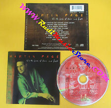 CD MARTIN PAGE In the house of stone and light 1994 Europe no lp mc dvd (CS5)