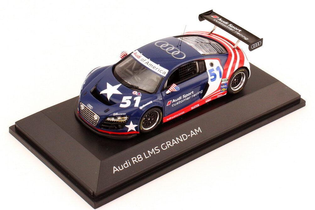 1:43 Audi R8 LMS Grand-Am voiture d'essai 2011 de Amérique Client Course DEALER