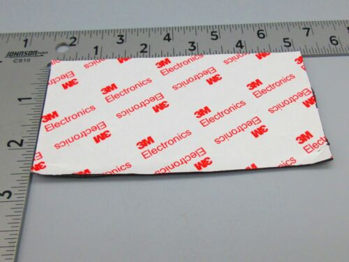 """3M Adhesive Backing 1//2/"""" x 3//16/"""" Round Rubber Feet for Foot//Guitar Pedals DxH"""