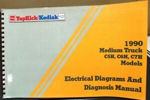 1990 gmc electrical wiring diagram service manual top kick kodiak medium  truck | ebay  ebay