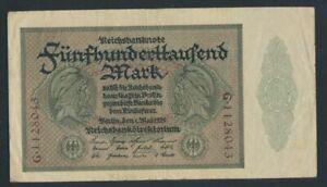 German-Empire-Rosenbg-87a-empire-printing-used-III-1923-500-000-Mark-7350059