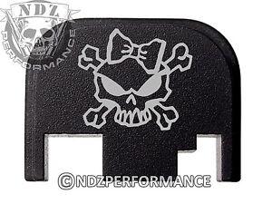 for-Glock-Rear-Plate-17-19-21-22-23-27-30-34-36-41-Blk-G1-4-Lady-Skull-Cross-2