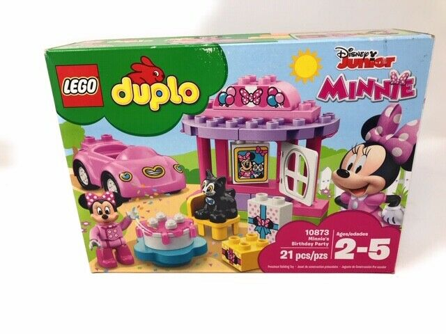 LEGO® Duplo: Minnie's Birthday Party Building Play Set 10873 New Open Box