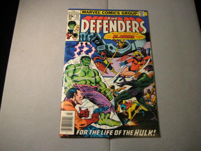 The Defenders #57 1978 Marvel Dr Strange Hulk Ms Marvel