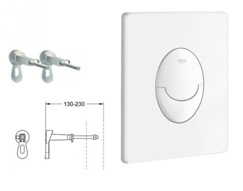Grohe Rapid SL 3 in 1-Set WC Bad Vorwand Spülkasten Komplett-Set 113 mm 38722001