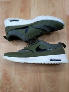 olive green air max thea