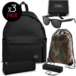 TWIG SCHOOL PACK mochila + bolsa + estuche/gafas de sol