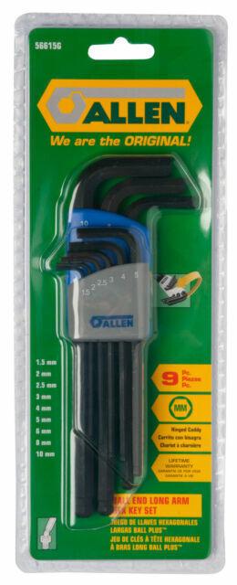 DEKTON Extra Long Star Torx Allen Key security Wrench Set t10-t50 9 pc clés