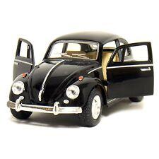 Kinsmart 1967 Volkswagen Classical Beetle Diecast Metal Car - Black