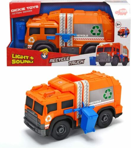 Dickie Toys 203306001 Recycle Truck Multicolore