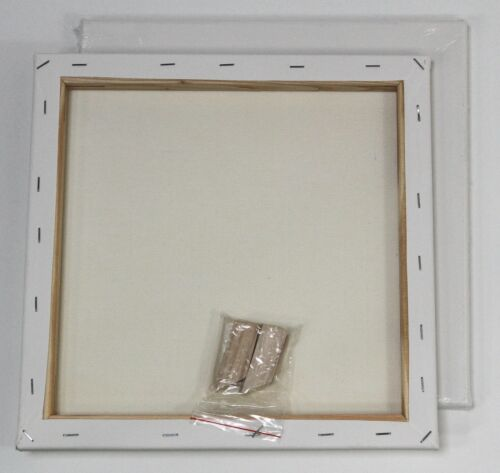 ab 18x24 cm 320gr//m² Leinwand zum Malen Eco-Keilrahmen malfertig grundiert