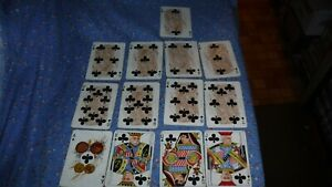 Details about Rare Anheuser Busch Spanish American War 1899 Playing Cards  Clubs Army Officers