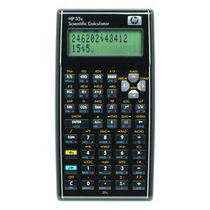 HP 35s Scientific Calculator Programmable 14 Digit LCD