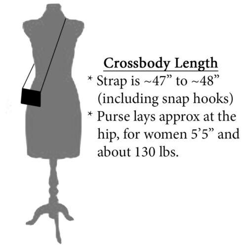"5//8/"" Chocolate Brown Purse Strap Adjustable Cross Body Replacement Handbag Bag"