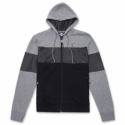 Fila Camron Hoody LM173F25 289 Gray//Black Brand New with Tags in Various Sizes