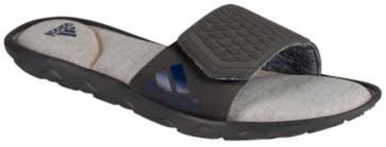 Adidas womens anyanda flex slider fitfoam sandal slipper new s77999 uk 4 to uk 7
