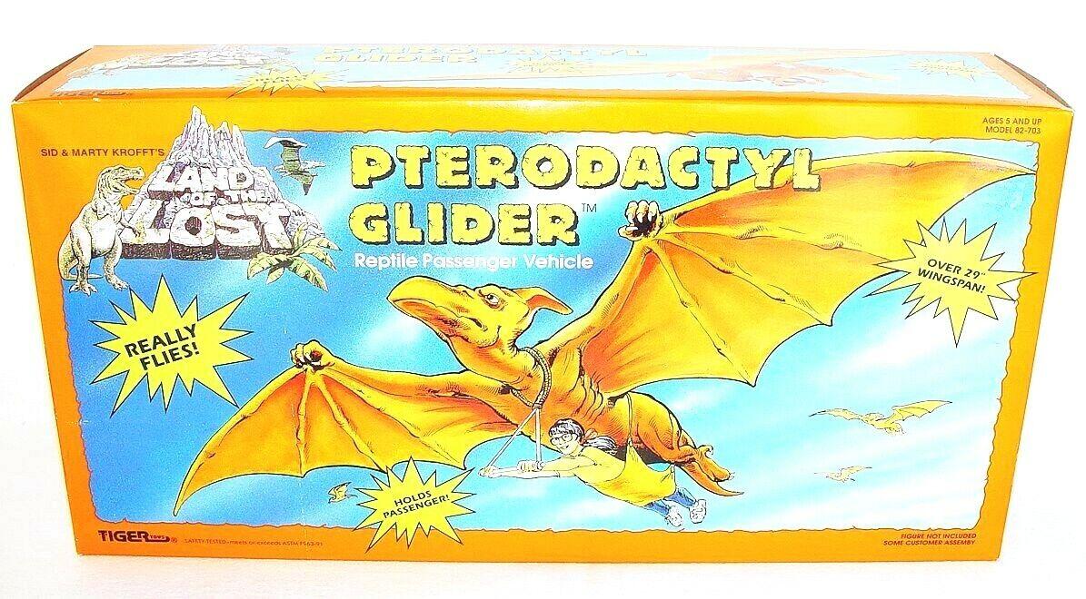 Tiger Juguetes Land of the Lost pterodáctilo Planeador Figura De Acción Conjunto de Juego Conjunto Menta en caja sellada' 92