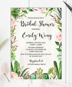 Succulent-Bridal-Shower-Invitation-Rustic-Cactus-Rose-Botanical-Invite-Hen-Party