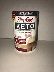 SlimFast-Keto-Meal-Replacement-Shake-Powder-Vanilla-Cake-Batter-12-2-Ounce-Drink