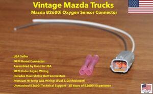 New Mazda B2600i Oxygen Sensor Connector Plug Harness Repair Pigtail