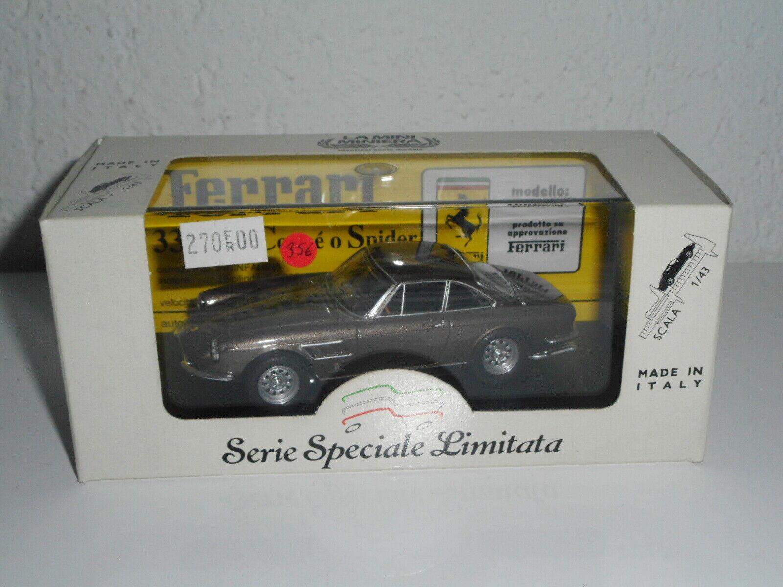 La Mini Miniera 1 43 Ferrari 330 GTX Marronee N º 356 de 450 Vendido