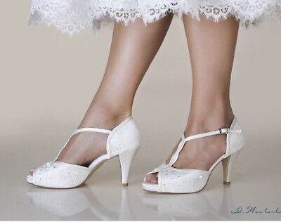 Scarpe Da Sposa Swarovski.Scarpe Decollete Sposa Open Toe Sandali Swarovski Wedding Shoes