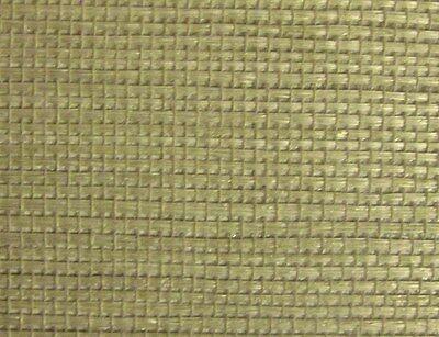 WALLPAPER SAMPLE GENUINE VINTAGE Natural Grasscloth Wallpaper Tan/Beige