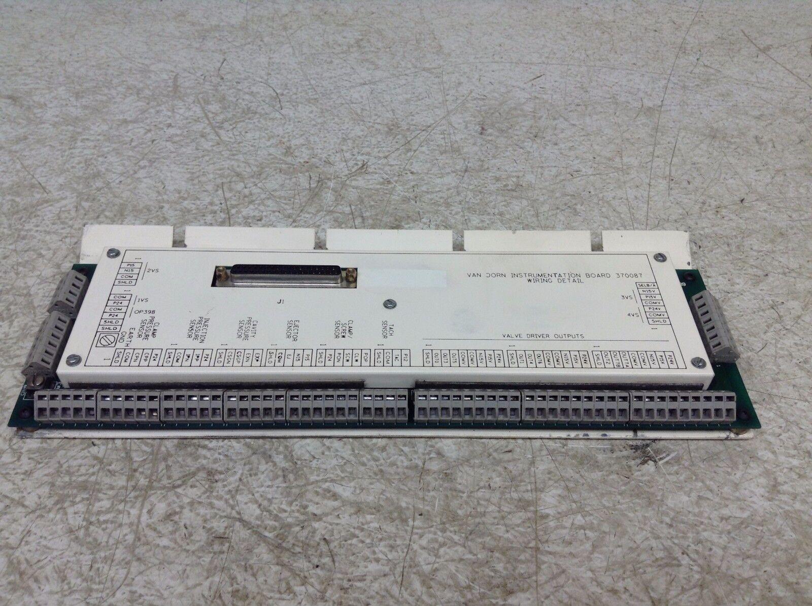 Van Dorn 370087 Instrumentation Board