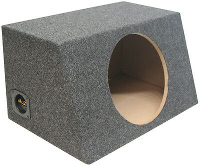 Sealed 12 Inch Car Audio Hatch Subwoofer Enclosure Bass Speaker Sub Box
