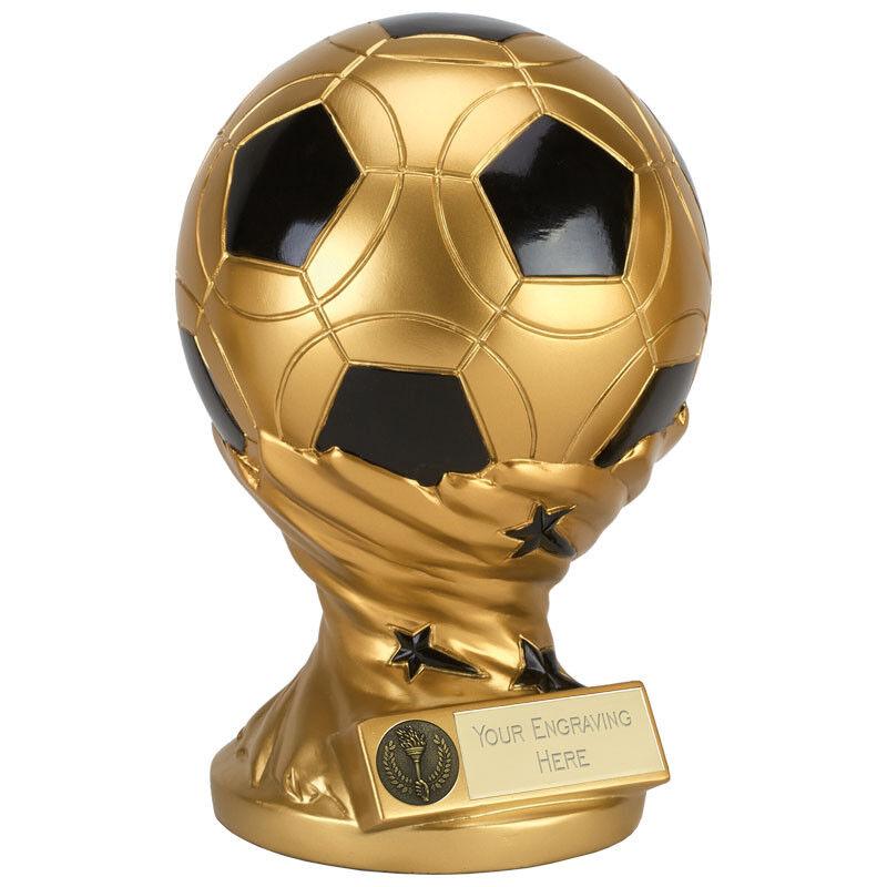 Fußball 3D Ball Ball Ball 22.9cm Trophäe Gratis Gravur Personalisiert Graviert Preis Neu 5168ff
