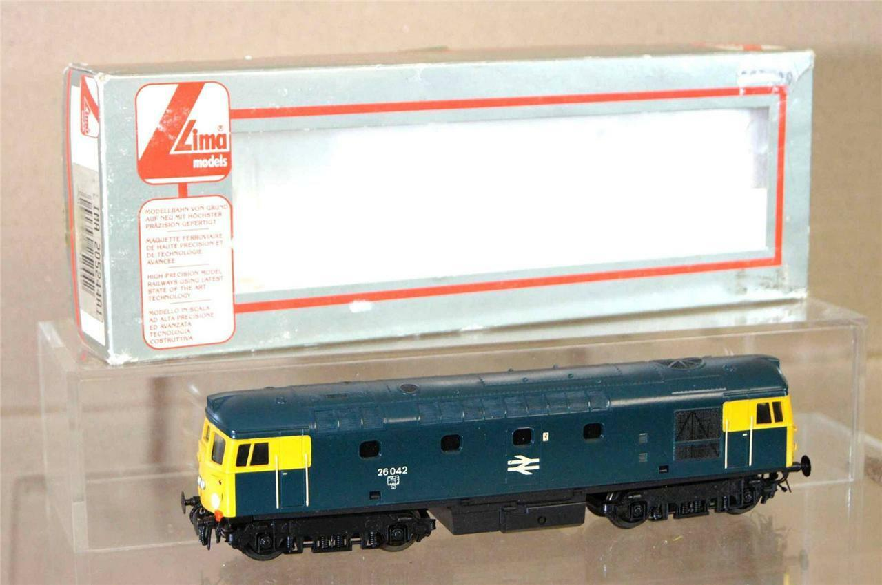 LIMA 5244 KIT BUILT BR blueE CLASS 26 LOCO 26042 REPAINTED DETAILED mv