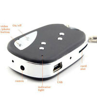 16GB Mini Car Key Chain SPY DV Cam HD Hidden Camera DVR Video Recorder Camcorder