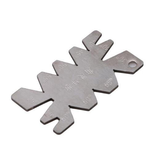 Lathe Machine Cutting Angle Gauge /& Center Gage Thread Gauge Tool Hot JAZZ