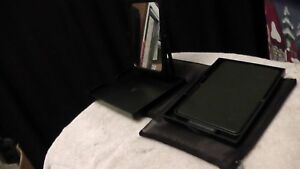 Mary Kay Travel Foldable Mirror with Stand in Mesh Zippered Case Bag