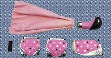 Kit de afinación Almohadillas Rosa Pedal de 5 Piezas Conjunto De Ajuste Universal Coche Caravana SUV