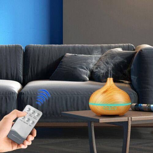 DHL LED Ultraschall Luftbefeuchter Aroma Diffuser Aromatherapie Duftlampe Neu