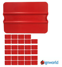Signworld Vinyl Squeegee Auto Decals Stickers Wrap Window Tint Set Of 30