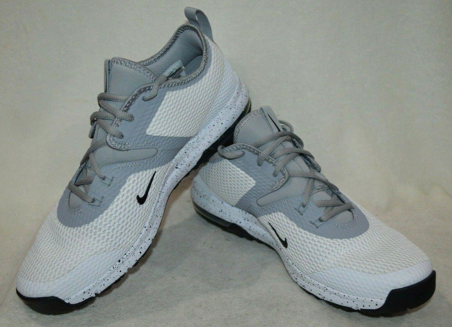 Nike AIR MAX tifa 2 Bianco Nero Grigio Uomo Sautope da Training-SZ 8.5 9 10.5 11 NWB Sautope classeiche da uomo