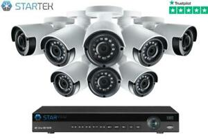 Kit of 8 WI-FI security camera , FULL HD Live Phone View ( latest version 2020 ) CCTV Canada Preview