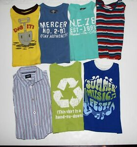 Boys-Lot-of-7-items-size-18-m-H-amp-M-The-Children-039-s-Place