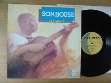 Son House – In Concert , UK, 1984, LP,  Vinyl: vg+