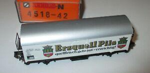 Arnold-4518-42-Einheitskuehlwagen-Ichqrs-034-Erzquell-Pils-034-gt-Neu-OVP